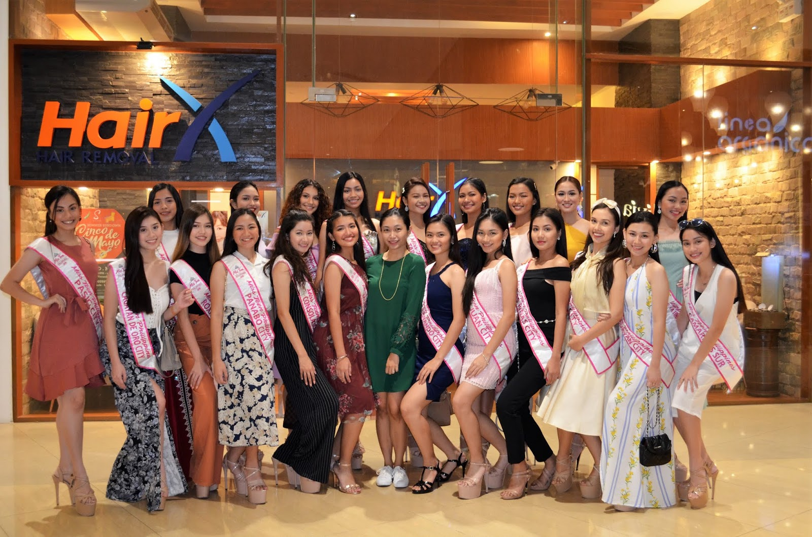 HairX Hair Removal Clinic Sponsors Miss Teen Philippines