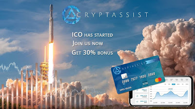 Cryptassist-ICO-Review, Blockchain, Cryptocurrency