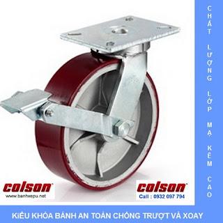 Bánh xe đẩy công nghiệp chịu tải trọng nặng (900~2025kg) www.banhxepu.net