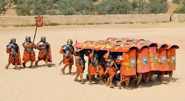 Ο ρωμαϊκός στρατός αντέγραψε τους αρχαίους Έλληνες και έγινε ανίκητος για πολλούς αιώνες
