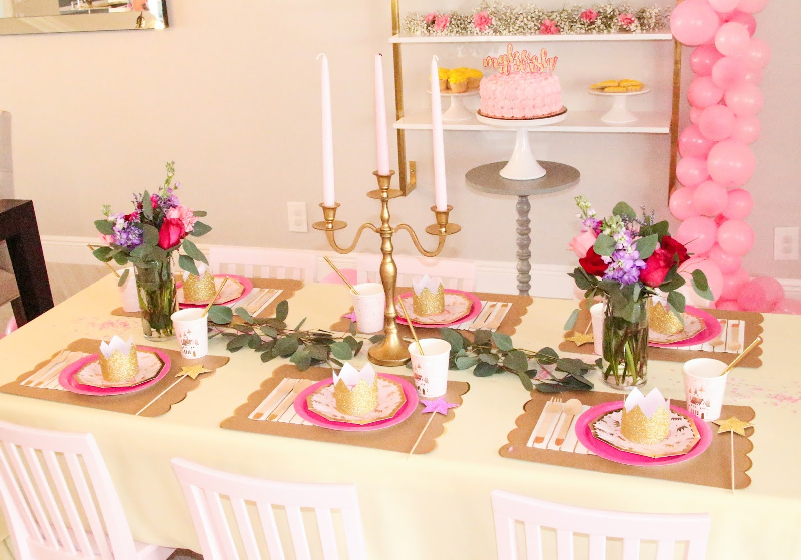 Beauty and the Beast Garden Party by popular Florida party planning blogger Celebration Stylist