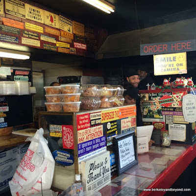order counter at Everett & Jones Barbeque