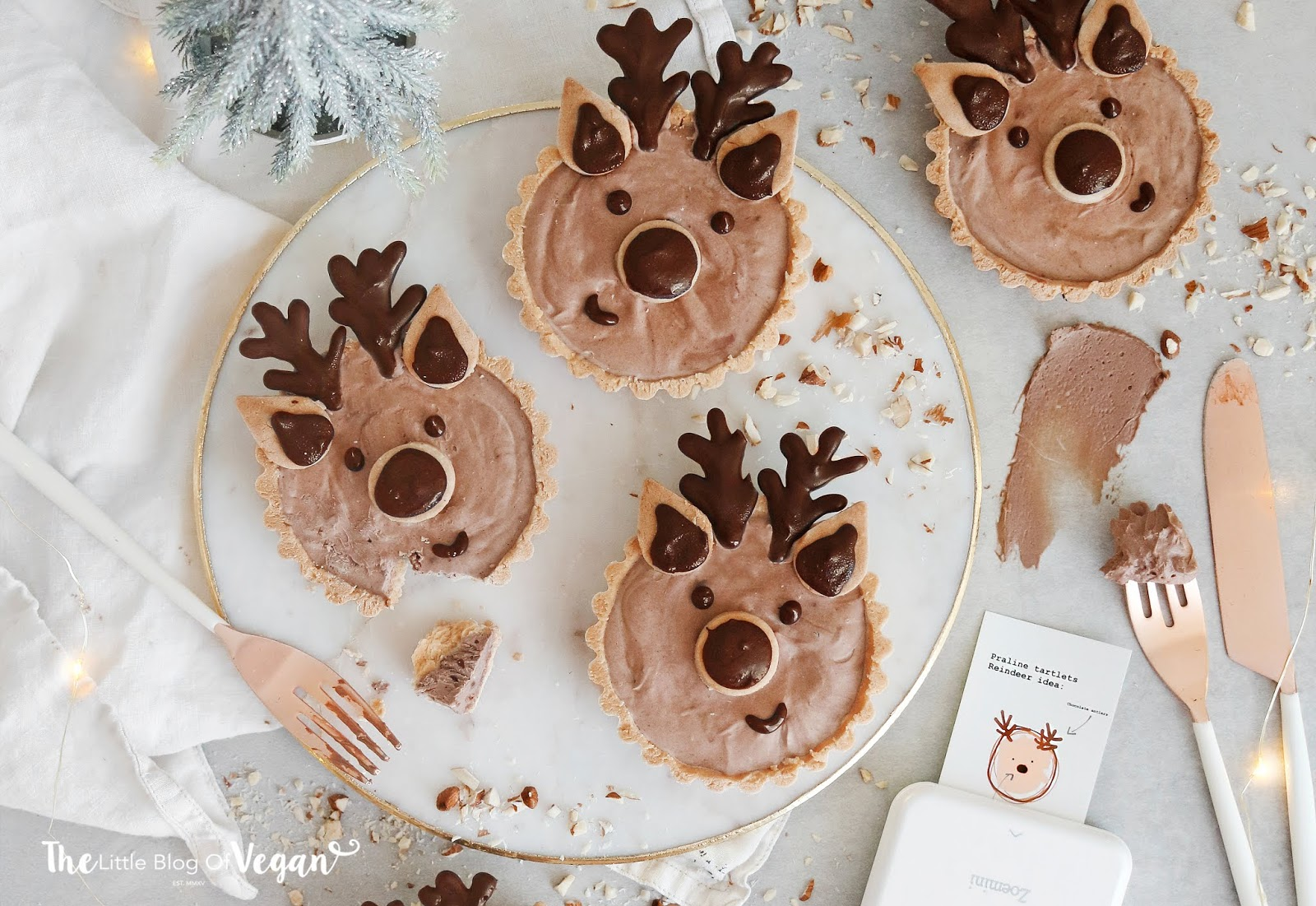 Easy praline deer tartlets recipe