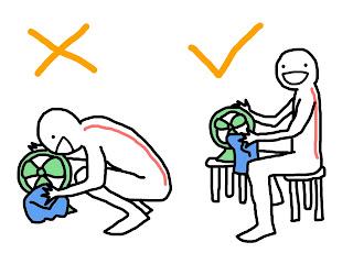 好痛痛 過年大掃除 腰酸背痛 腰痠背痛 脊椎 背部 腰部 擦電風扇