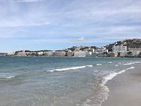 The beach at Santa Ponsa in Majorca
