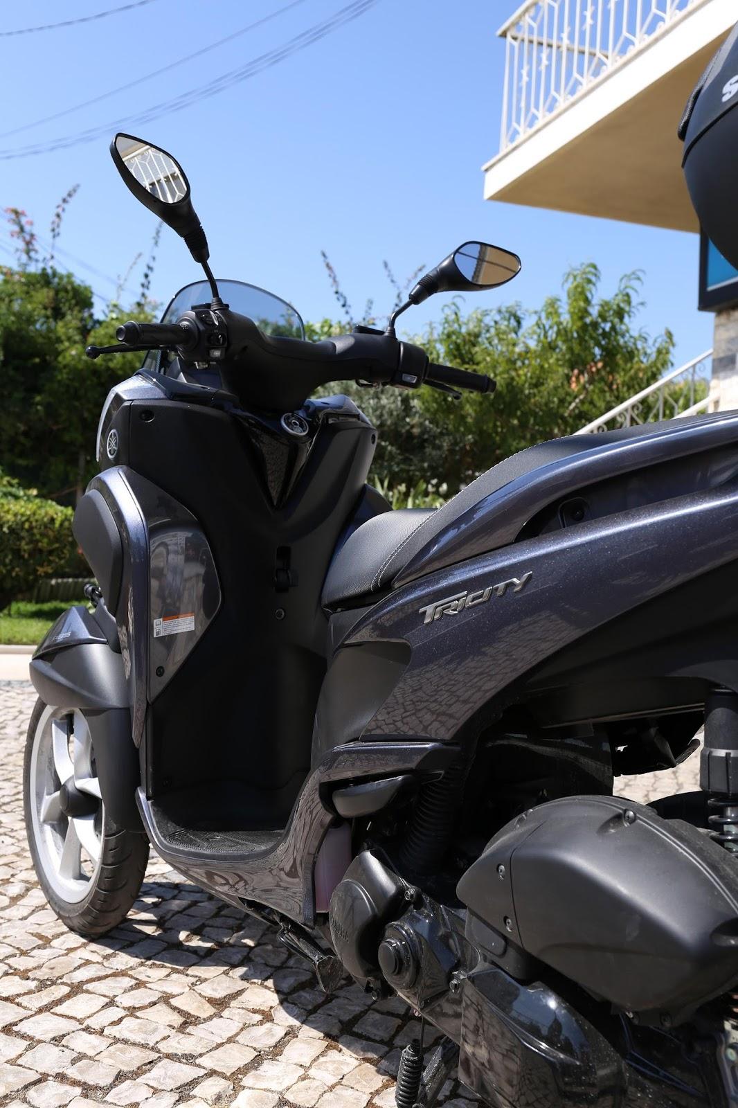 loja das motos yamaha tricity 125 vendida. Black Bedroom Furniture Sets. Home Design Ideas