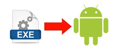How to install the .EXE files in Android without rooting?