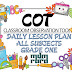 CLASSROOM OBSERVATION TOOL (COT) DAILY LESSON PLAN (DLP) GRADE ONE