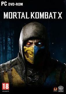 غلاف لعبة Mortal Kombat X