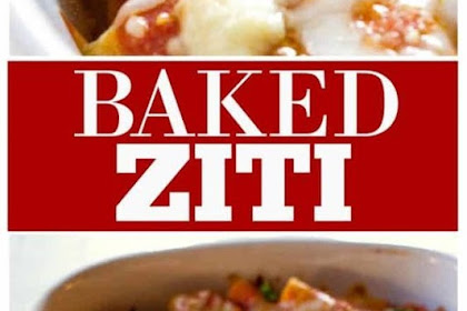 THE BEST BAKED ZITI