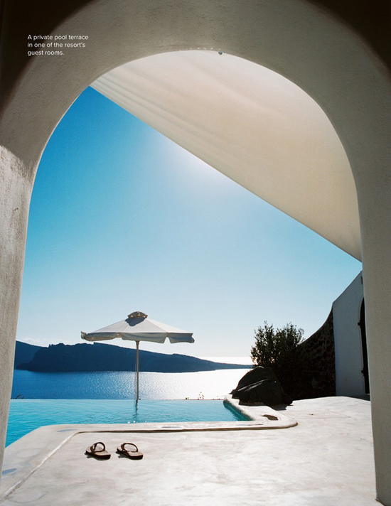 Perivolas Resort in Oia, Santorini. Laiback luxury stay in one of the most beautiful greek islands.
