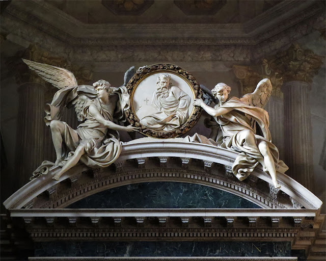 Sculptures above the high altar, Sanctuary of Santa Maria della Vita, Via Clavature, Bologna