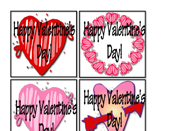 Valentine's Mini Tags