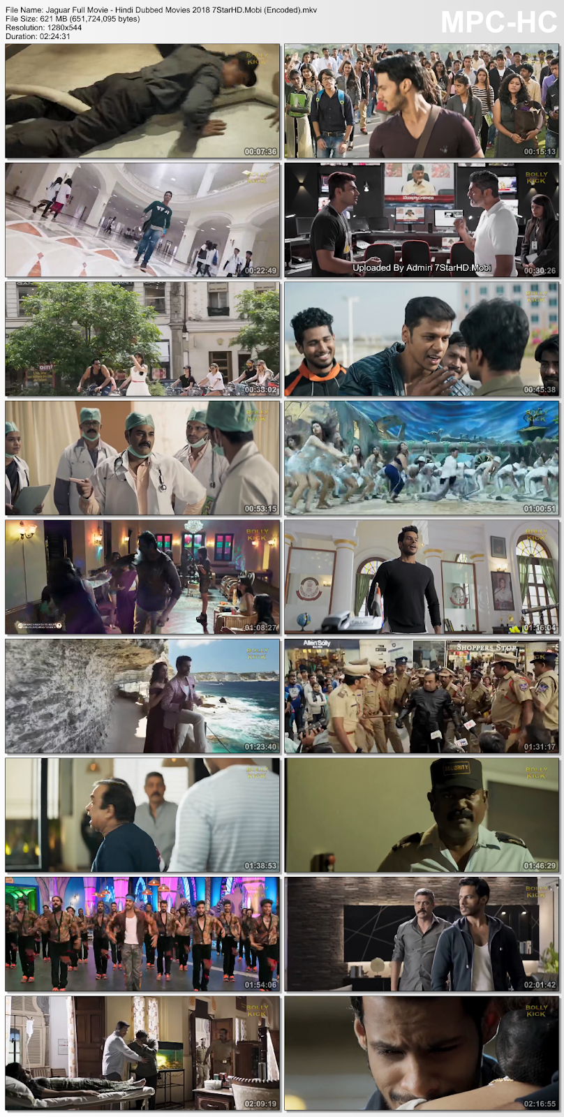 Jaguar (2018) Hindi Dubbed 600MB HDRip 720p HEVC x265 2