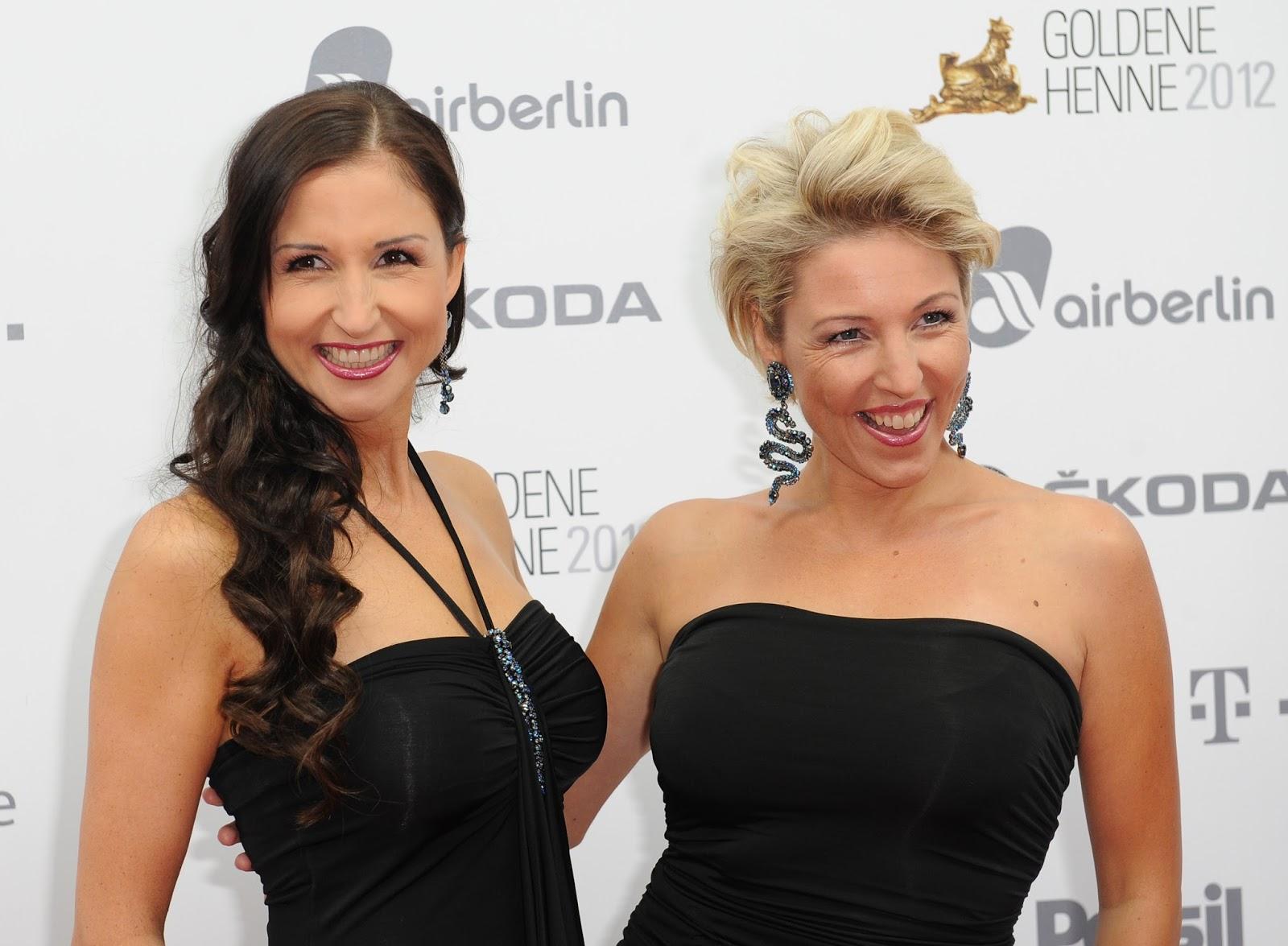 Geschwister Hofmann Cute HQ Photos at Goldene Henne 2012