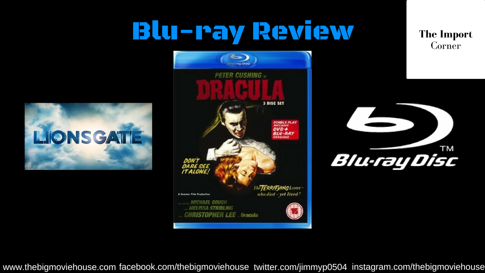 The Big Movie House: The Import Corner: Hammer Nails It: Dracula