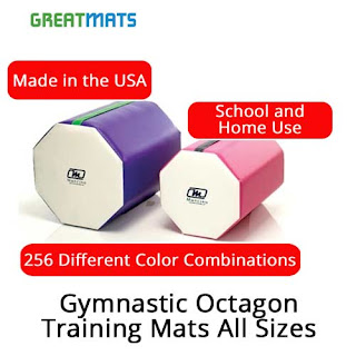 Greatmats Gymnastics Octagon Training Mats