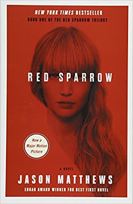 Red Sparrow by Jason Matthews (Book cover)
