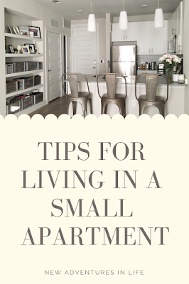 Tips for Living in a Small Apartment