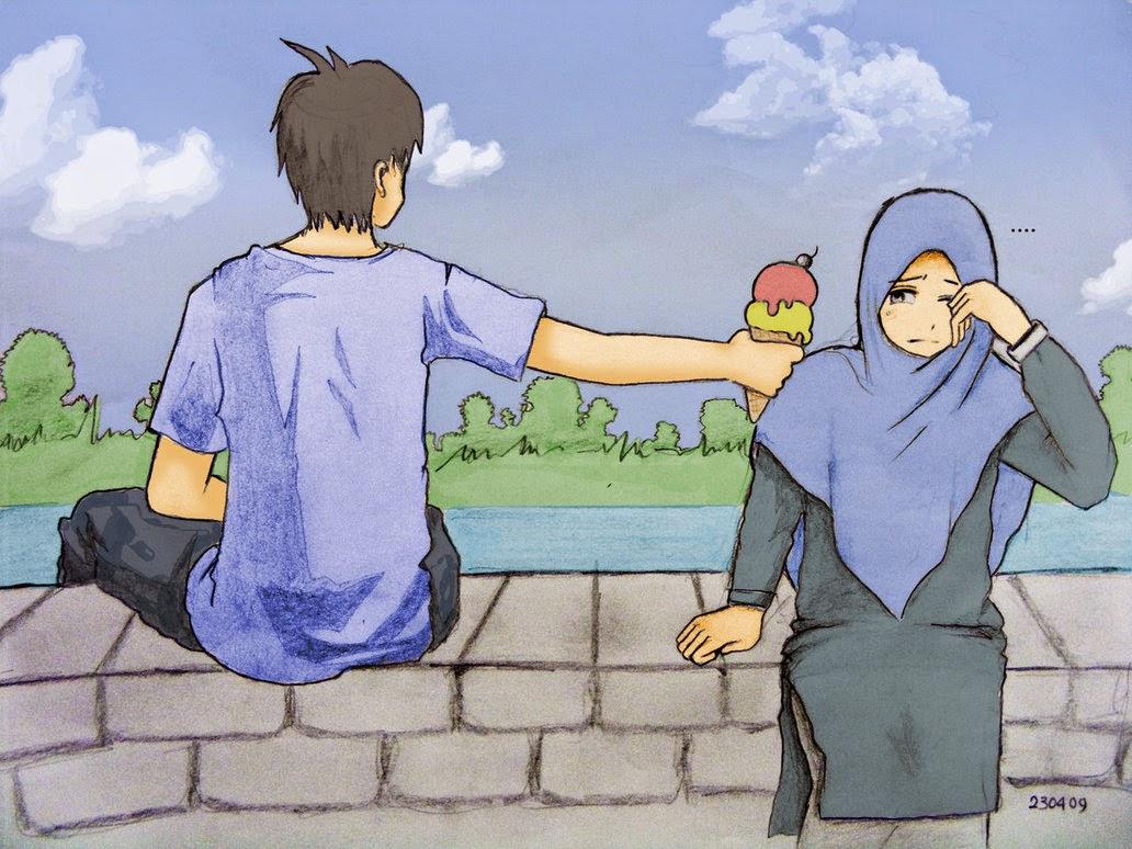 Galeri Gambar Kartun Muslim Lengkap Terbaru