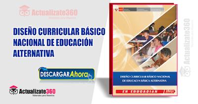 DISEÑO CURRICULAR BÁSICO NACIONAL DE EDUCACIÓN  ALTERNATIVA