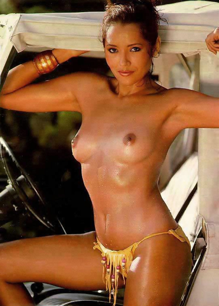 Nude nipples of bond girls