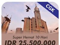 Umroh Super Hemat 10 Hari Berangkat Jakarta