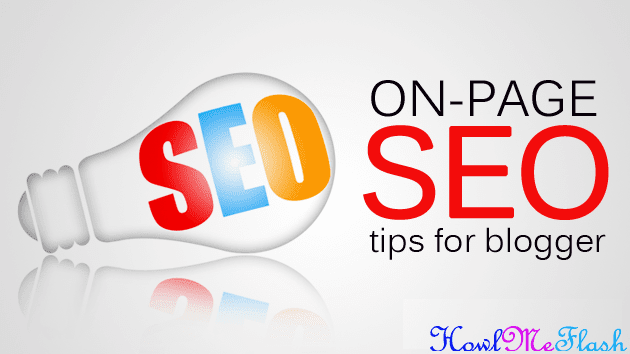 Basic On Page SEO Tips For Blogspot Blogs