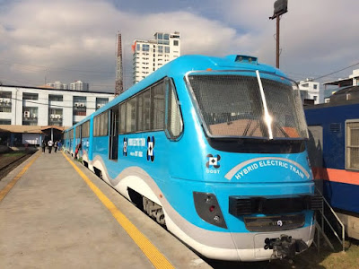 """Safe, Comfort and Bearable"" DOST's Promise on its New Hybrid Train"