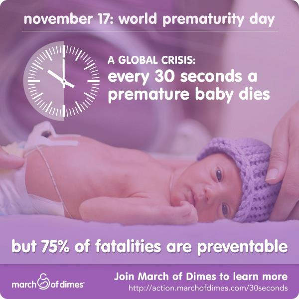 Three Cheers for Babies: World Prematurity Day