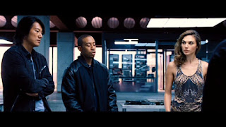 Sung Kang, Ludacris and Gal Gadot