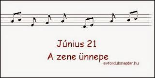 Június 21 - A zene ünnepe