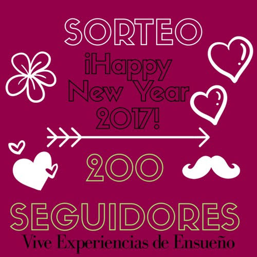 SORTEO HAPPY NEW YEAR 2017