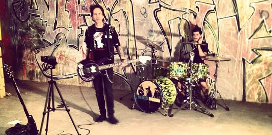 <center>Hateful Monday post video for 'P.H.D. In Punk'</center>