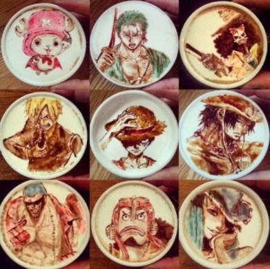 'Cream Art' Lukisan Di Atas Secangkir Kopi Karya Lee Kang Bin