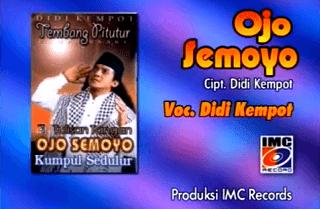 Lirik Lagu Ojo Semoyo - Didi Kempot