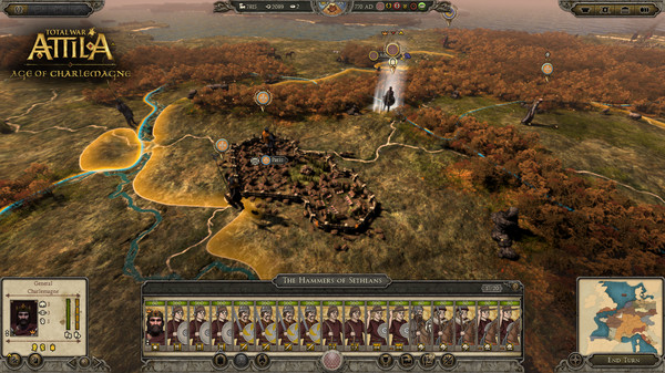 [GameGokil.com] Total War ATTILA Age of Charlemagne Campaign Pack Full Iso