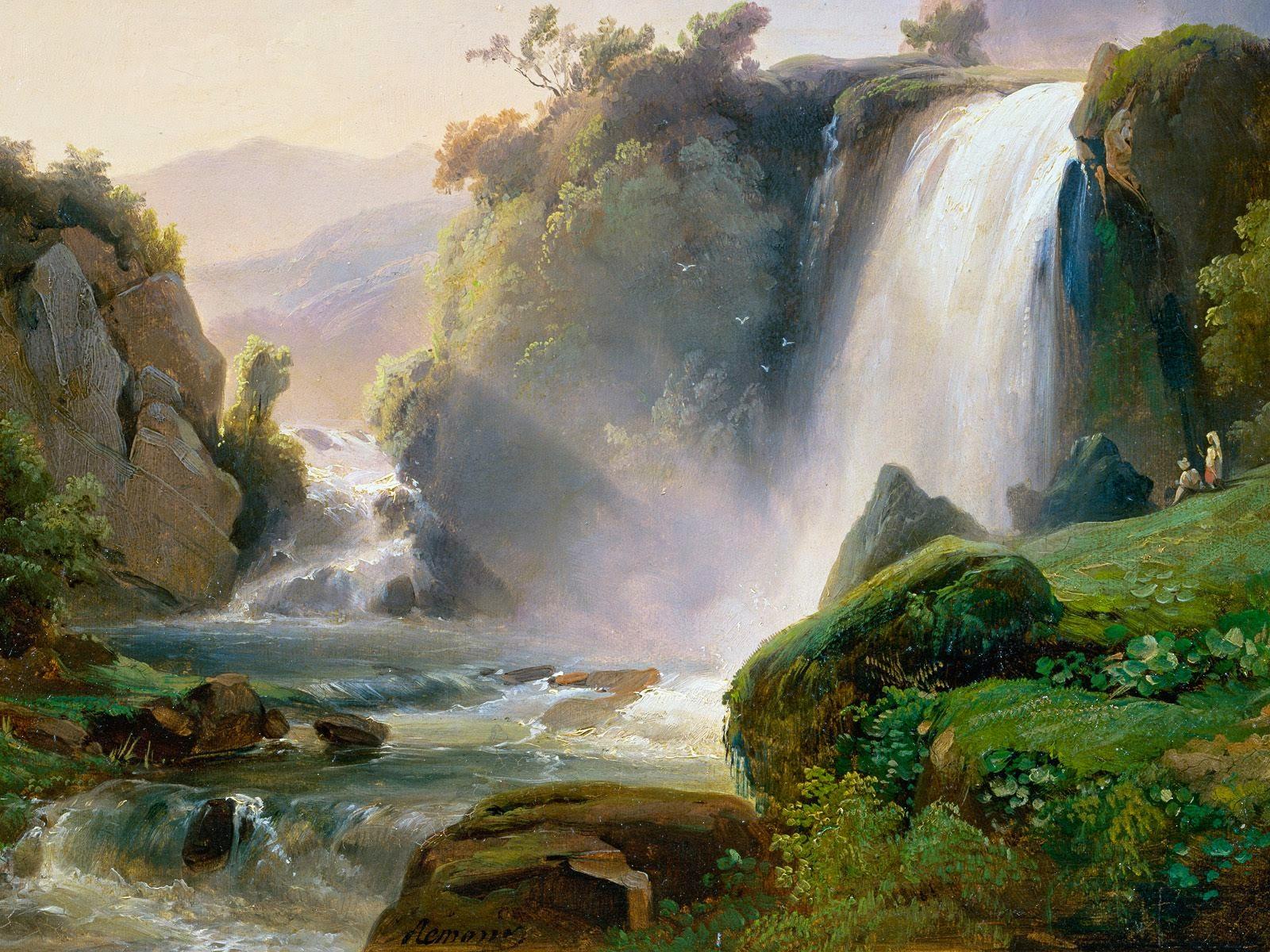 Ide 30 Lukisan Tangan Pemandangan Alam Artikel Webs Inet