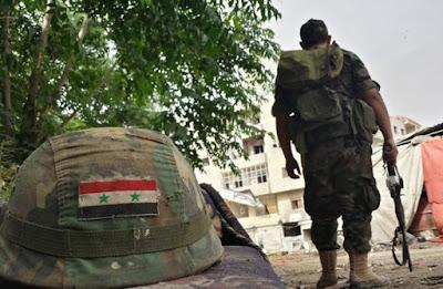 Serangan Siluman Pejuang Suriah di Jantung Kota Damaskus