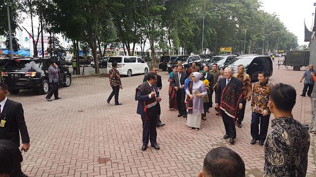 Resepsi Kahiyang-Bobby, Rombongan Menteri Tiba di Lokasi Acara