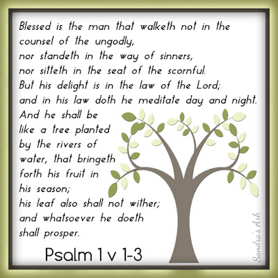 Pondering the Psalms - Psalm 1