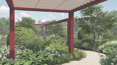 Jardín de Tom Stuart-Smith en Chelsea 2019 dedicado al futuro RHS Garden Bridgewater