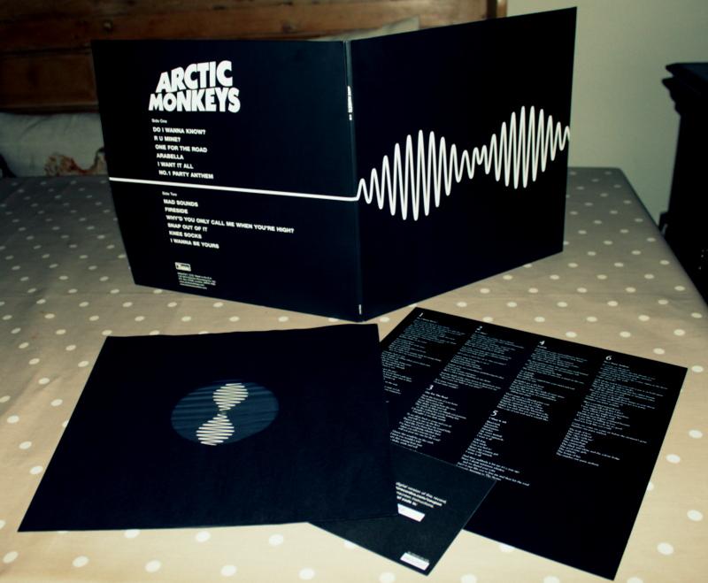 arctic monkeys vinile  Shhh . . . I'm listening to this: Arctic Monkeys - AM