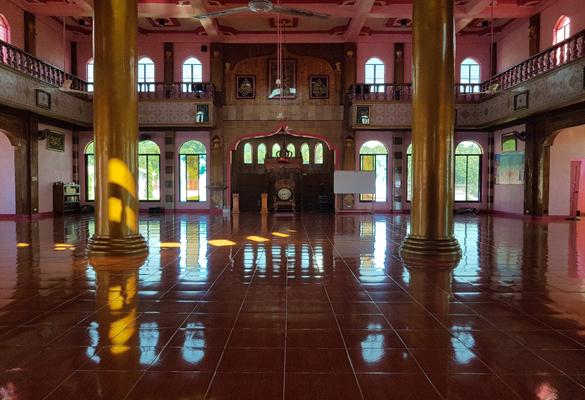 pink mosque mindanao