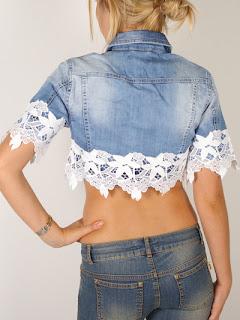 42 ideias para customizar aquela velha jaqueta jeans ..mais tutoriais