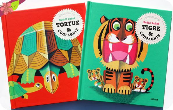 Tigre & compagnie et Tortue & compagnie de Rudolf Lukes - Hélium