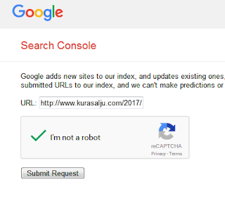 Cara cepat submit artikel di search engine google