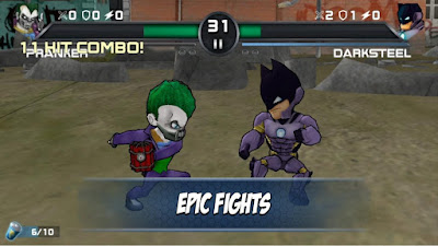 Superheros 3 Fighting v1.3 (Money Mod) Games Apk