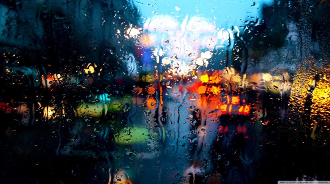 Rainy Weather Hd Wallpaper Wallpapers Maniac