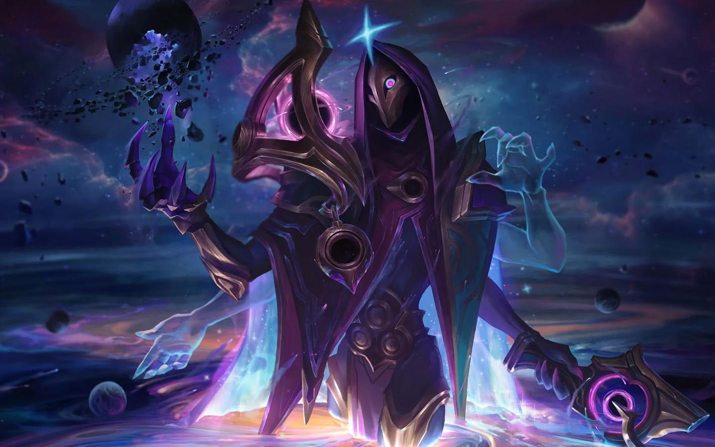 dark cosmic jhin splash art lol 4K 87